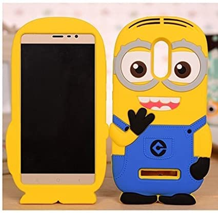 detailed look 59651 5f57d MI REDMI Note 4 Back Cover - Desi Jatt Stylish Minion: Amazon.in ...