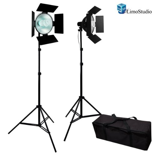 LimoStudio Photo Studio Barndoor Light 400W Continuous Lighting Kit, AGG949 by LimoStudio