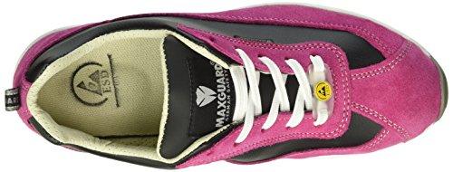 Maxguard Dolly D378 - Calzado de protección Unisex adulto rosa