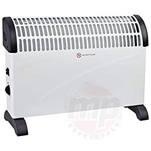 Electrical 2 KW Convector Heater – Wall Mounted Or Free Standing (White)