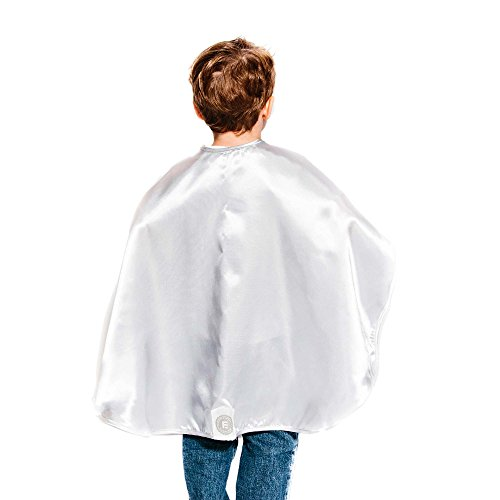 Everfan Silver Polyester Satin Superhero Cape - Kids -