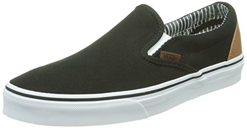 VansClassic Slip-On - Zapatillas de Deporte Unisex adulto Negro - Noir (C L/Black/Str)