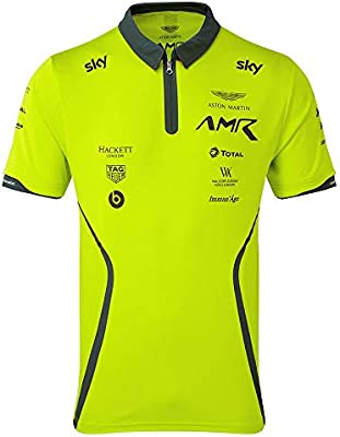 Aston Martin Racing Team Polo 2019 Verde Lima para Adulto, Small ...