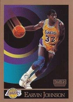 Larry Bird / Magic Johnson 1990 Skybox (2) Card Set (Boston) (Los Angeles)