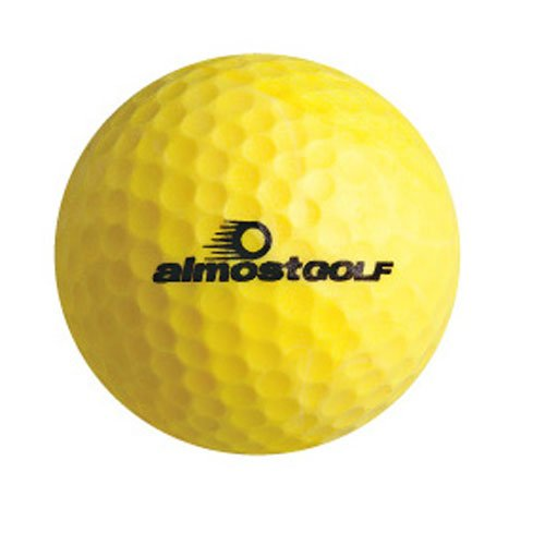 Almost Golf Limited Flight Golf Balls (3 Ball Pack) -Yellow