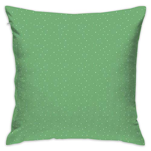 (simple socks Bony Tiny Love Hearts On Plain Meadow Green-Decorative Square Throw Pillow Cover Cushion Covers Pillowcase, Home Decor Decorations for Sofa Couch Bed Chair 18x18 Inch/45x45 cm. )