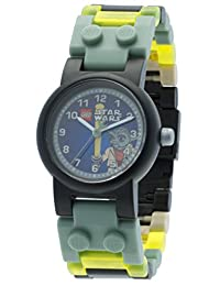 LEGO Kids' 9002076 Star Wars Yoda Watch With Minifigure