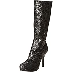 Ellie Shoes Women's 421-Zara Boot, Black, 8 M US