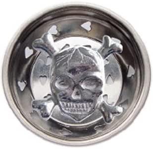 Skull W Crossbones Kitchen Sink Strainer Drain Decor