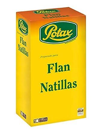 Potax - Preparado para Flan Natillas - 1000 g: Amazon.es: Alimentación y bebidas