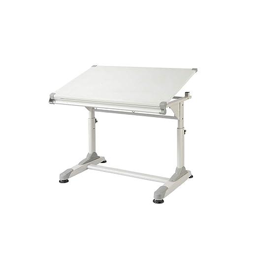 XGF® Mesa de dibujo, puede levantar escritorio inclinable, mesa de ...