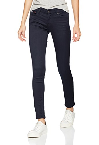 Jeans Donna Skinny Tommy Blau Blue Nora boogie Bgbst jeans Rise 980 Stretch Mid pxq0n0wXYB