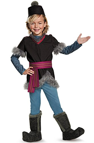 Kristoff Deluxe Child Frozen Disney Costume, X-Small/3T-4T -