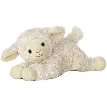 """Aurora World Musical Sweet Cream Lamb 12"""" Plush,"""