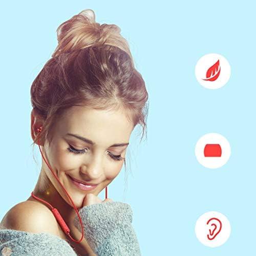 Bluetooth koptelefoon, Wireless Sport Magnetic Earphones Workout oordopjes voor gymnastiek het lopen 12h Playtime IPX6 sweatproof Sports In ear hoofdtelefoon, Noise Reduction-functie,A