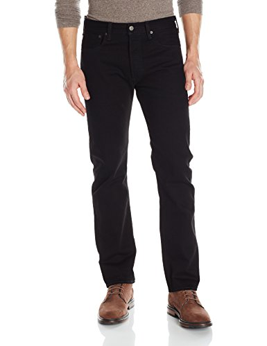 Levi's Men's 501 Original Fit Jean, Blacklist-Stretch, 36 32