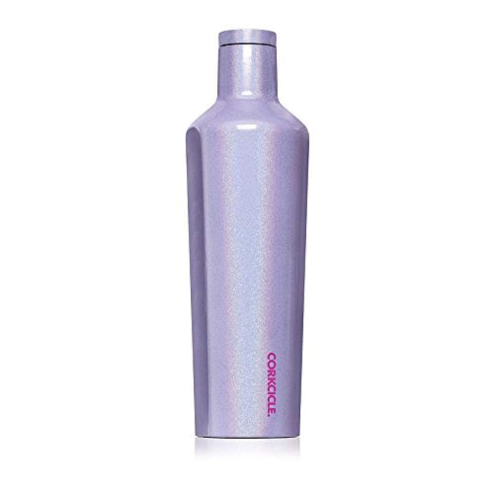 Corkcicle Canteen Classic Collection - Water Bottle & Thermos - Triple Insulated Shatterproof Stainless Steel, Sparkle Pixie Dust, 60 oz