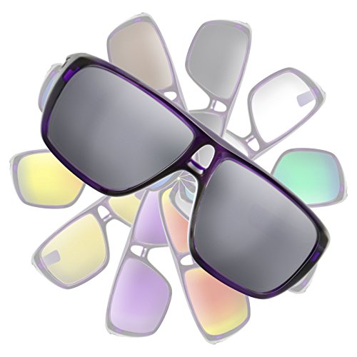 Used, Metallic Silver Mirror Replacement Lenses for Oakley for sale  Delivered anywhere in Canada