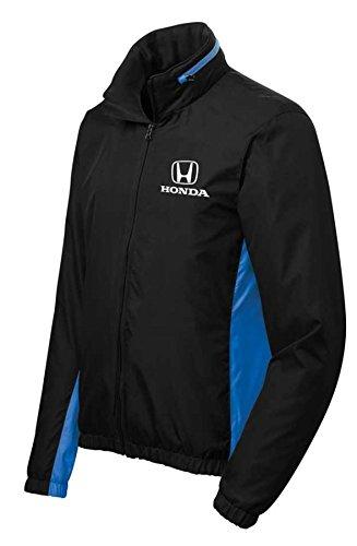 Honda Black/Blue Colorblock Wind Jacket by Speedgear