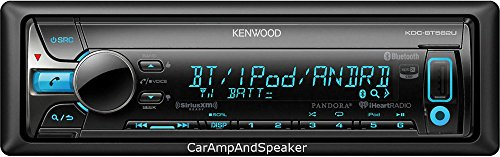 Kenwood KDC-BT562U CD Single DIN In-Dash Bluetooth Car Stereo - Kenwood Player Cd Indash