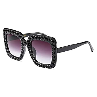 710212aa11f Shopystore 1  Luxury Cat Eye Sunglasses Women Italy Brand r Diamond Sun  Glasses Ladies Vinta  Amazon.in  Clothing   Accessories