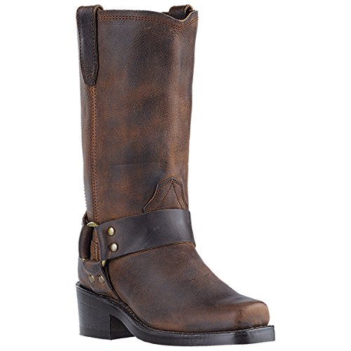 Dingo Women's Molly Harness Boot Snoot Toe Gaucho 6.5 M - Harness Gaucho