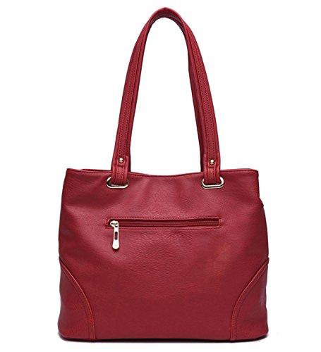 Big Handbag Shop - Bolsa mujer - Black (KL586)