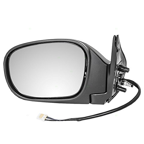 Drivers Power Side View Mirror Heated Ready-to-Paint Replacement for Nissan SUV K6302-4W460