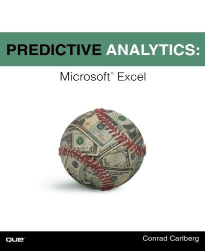 Predictive Analytics: Microsoft Excel (Predictive Modeling compare prices)