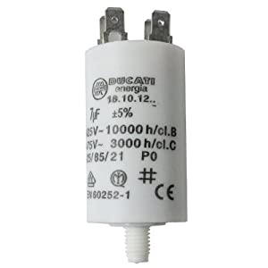 First4spares Universal Appliance Motor Start run Capacitor Microfarad 11UF Spade Connector // Tags