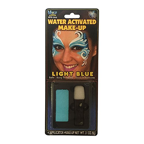 Light Blue Water Based Make-Up -