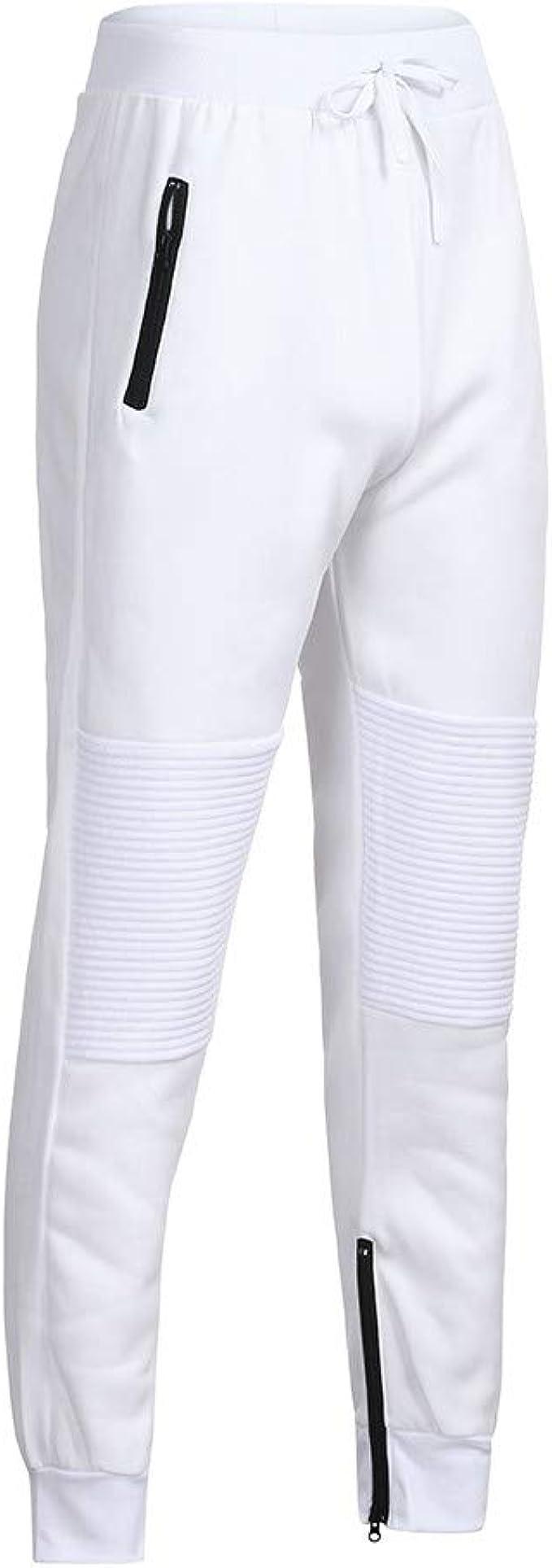Pantalón Chandal Hombre Pantalones Deportivos Casual con Cordones ...