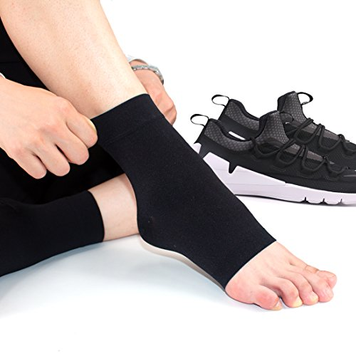 Ailaka Medical 20-30 mmHg Plantar Fasciitis Socks for Men & Women, Heel Arch Ankle Support Compression Foot Sleeves, Great Foot Care for Pain Relief, Swelling, Nurses, Maternity, Pregnancy, Running by Ailaka (Image #3)
