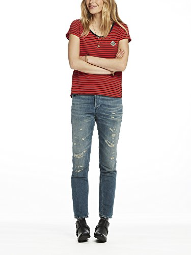 Soda Various shirt s Scotchamp; 17 In Femme Multicolorecombo S A StripesT Tee hQdtsr