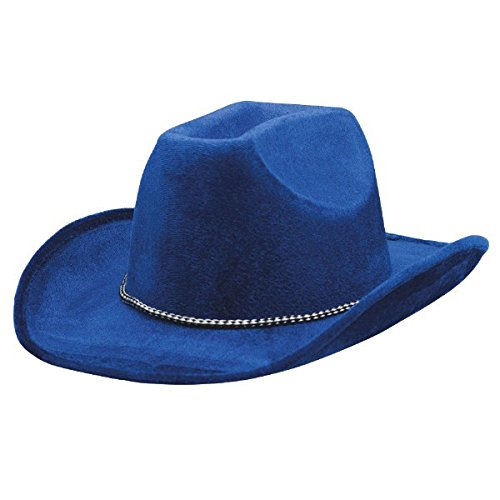 Amscan 255606.22 Hat, One Size, Blue