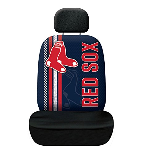 Fremont Die MLB Boston Red Sox Rally Seat Cover, Blue, One - Red Covers Seat Sox Boston