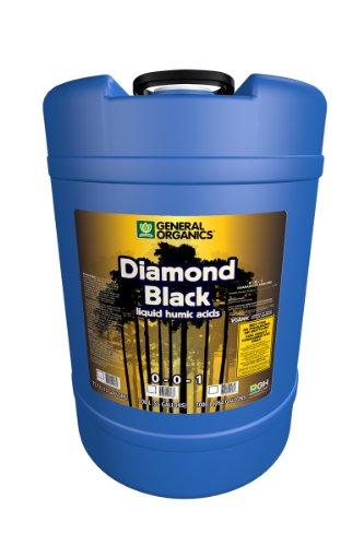 General Hydroponics GH5366 Diamond Black Soil Additive, 15 Gallon ()