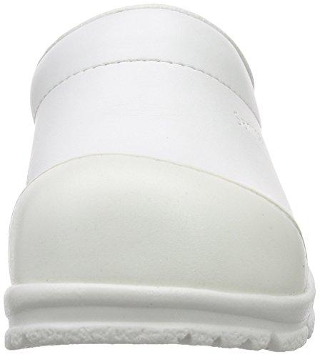 1 bianco Zoccoli San Adulti Bianco sb duty Unisex Sanita Open Weiss xIz7Xv