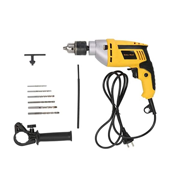Golden Bullet HI93 600W 13mm Reversible Impact Drill With 6 FREE drill bits and Variable Speed 2