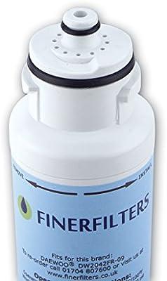 4 x Finerfilters, hielo y filtro de agua para Daewoo dw2042fr-09 ...