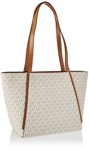 c9299d4a1af5f Michael Kors Womens M Tote Group Sm Tz Tote Tote White (Vanilla)   Amazon.co.uk  Shoes   Bags