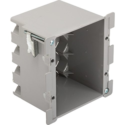 382725 Plastic Double Gang Old Work Electrical Box- pack of 2