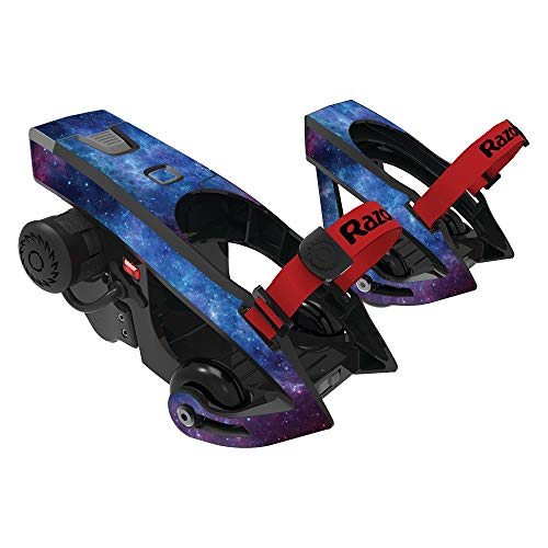 MightySkins Skin Compatible with Razor Turbo Jetts Electric Heel Wheels - Nebula | Protective, Durable, and Unique Vinyl Decal wrap Cover | Easy to Apply, Remove, and Change Styles | Made in The USA