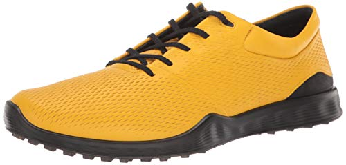 ECCO Men's S-Lite Golf Shoe, merigold Yak Leather, 12 M US