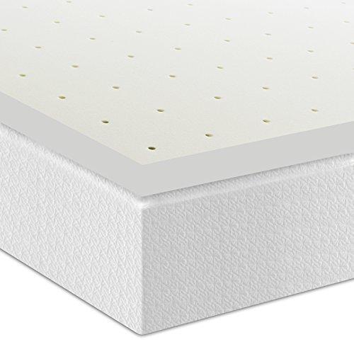 Best Price Mattress 2.5'' Ventilated Memory Foam Mattress Topper, Queen