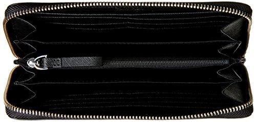 Calvin Klein Sofie Large ZIP Around, Bolso para Mujer negro