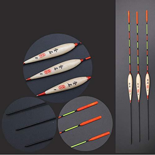 Amazon.com : Nashinals 3pcs/lot Bobber Fishing Float Balsa Floats Boyas Pesca Flotador 1-3# Stopper Bobber Float Fishing Tackle Accessories Tools : Sports & ...