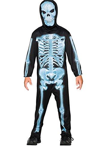 X-Ray Skeleton Child Costume - Small (4-6) PROD-ID : 1445674 (Xray Skeleton Kids Costume)