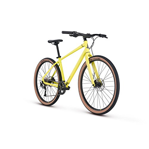 Raleigh Bikes Redux 2 City Bike 19″ Frame/ Yellow, 19″/Large For Sale