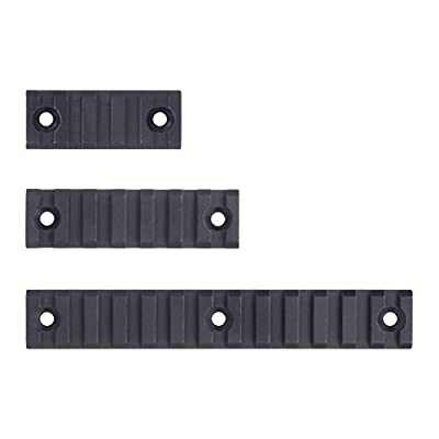 Monstrum Tactical Keymod Picatinny Rail Section Value Pack